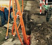Durch den verstärkten Breitbandausbau kann es in Herten und der Kernstadt zu halbseitigen Straßensperrungen und Sperrungen von Geh- und Radwegen kommen.