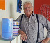 Glasbläser Wilfried Markus zeigt ab Sonntag, 26. November, im Haus Salmegg seine Werke.