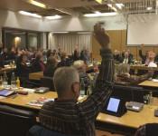 Einstimmig verabschiedet der Gemeinderat die Stellungnahme der Stadt zur A 98 Abschnitt 5.