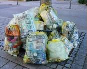 Die Gelben Säcke im Landkreis Lörrach werden wieder gesammelt.