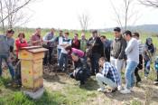 Das Projekt des gemeinsamen Gärtnerns im Stadtgärtle stößt bei den Geflüchteten auf große Resonanz.