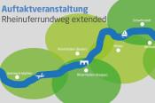 Rheinuferrundweg extended - Auftaktveranstaltung am 8. Mai.