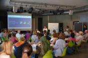"""Rund 60 Bürger beteiligten sich sehr konstruktiv an der Diskussion """"Zusammenhalt stärken - Teilhabe gestalten""""."""