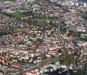 Luftbild von Rheinfelden