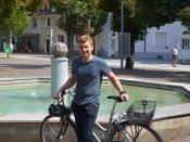 Patrick Nacke ist seit April der neue Radverkehrsbeauftragte der Stadt Rheinfelden (Baden).