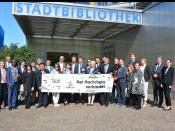 Die grenzüberschreitende Zusammenarbeit der beiden Rheinfelden diente einer Gruppe internationaler Diplomaten als Anschauungsunterricht.