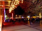 Zum Lichterfest erstrahlt die Innenstadt wieder in buntem Glanz.