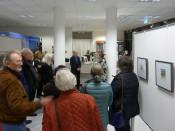 Südtirol - Liebeserklärung an eine Region: Zeichnungen und Aquarelle von Lothar Reichart noch bis zum 15. Dezember im Schauraum des Kulturamtes. Foto: Elisabeht Veith