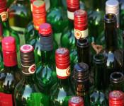 Symbolbild mit Weinflaschen