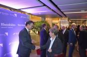 Persönlich wurde jeder Gast von Stadtammann Franco Mazzi und Oberbürgermeister Klaus Eberhardt begrüßt.