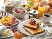 Frühstück mit großer Auswahl