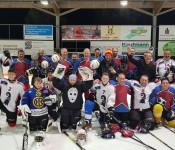Grenzüberschreitender Eishockeyplausch 2019