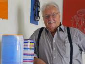 Wilfried Markust - Zweite Chance - Glas-Recyclingkunst - vom 18. März bis 18. Mai im Schauraum.
