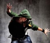 Breakdance im Jugendhaus.
