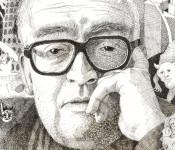 Portrait-Zeichnungen von Pascal Joray: Künstler der Basler Künstlergesellschaft 3. Mai bis 2. Juni in der Stadtgalerie im Haus Salmegg