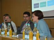 Bianca Schnober vom Düsseldorfer IMAP Institut stellte den Weg des Integrationskonzeptes dem Sozialausschuss vor.