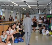 Abschlusspräsentation der Projektideen des 8er Rats mit Gallery Walk und in der Gemeinderatssitzung.