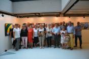 Oberbürgermeister Klaus Eberhardt und der Vorsitzende des Freundeskreises Neumarkt, Erich Blatter, begrüßten am Montagabend eine Gruppe Senioren aus Neumarkt.