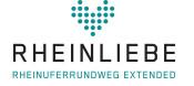 """Logo """"Rheinliebe"""" der IBA Basel"""