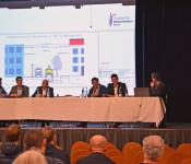 Dominic Rago, Elmar Wendland, Tobias Obert, Daniel Weiß, Paul Kempf, Werner Ganter und Oberbürgermeister Klaus Eberhardt (von links) informierten über die geplanten Maßnahmen.