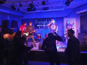 """Die Band """"Suicidius"""" aus Neuenburg."""