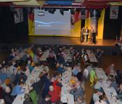 200 Personen verfolgten interessiert und engagiert die Diskussion um eine wohnortnahe Gesundheitsversorgung in Rheinfelden im Bürgersaal (18. Februar 2020)