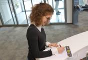 Auch im Bürgerbüro kann der Fragebogen zum ÖPNV ausgefüllt und abgegeben werden.