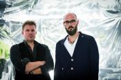 """Volker Kluepfel und Michael Kobr stellen ihren neuen Thriller """"Draußen"""" vor."""