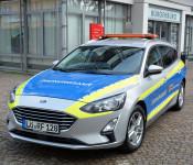 Das neue Fahrzeug des Ordnungsamts.