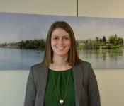 Lena Gsellinger ist seit Anfang März bei der Stadt zuständig für das Projektmanagement städtischer Großprojekte sowie Finanzen des Bürgerheims.