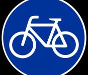 Schild Radweg