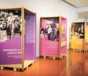 Rathausgalerie: Demokratie als Lebensform.