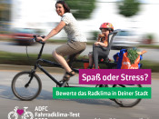 Abstimmen über die Fahrradfreundlichkeit von Rheinfelden - noch bis zum 30.11. beim ADFC-Fahrradklima-Test.