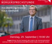 Online-Bürgersprechstunde