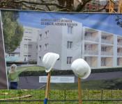 In der Ernst-Reuter-Straße 15 errichtet die Wohnbau Rheinfelden derzeit zwölf geförderte Wohnungen, die bis spätestens Anfang 2022 bezugsfertig sein sollen.