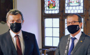 Stadtammann Franco Mazzi und Oberbürgermeister Klaus Eberhardt