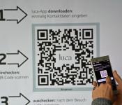 Ab sofort kann in städtischen Einrichtungen auch die Luca-App genutzt werden.