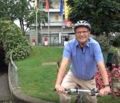 Oberbürgermeister Klaus Eberhardt freut sich auf das Stadtradeln 2021.