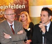 Bürgermeister Rolf Karrer und Bürgermeister Jörg Lutz
