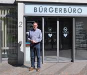 Frank-Michael Littwin ist neuer Leiter des Bürgerbüros.