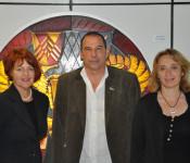 Cornelia Rösner, Franz Xaver Veith und Christine Tortomasi