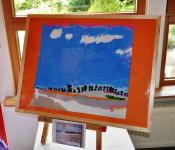 Vernissage der kleinen Künstler im KiGa Kunterbunt