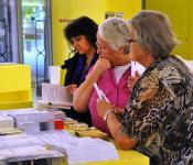 In der Stadtbibliothek wurden Informationen zum Thema Demenz angeboten.