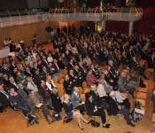 Rund 250 Gäste waren zu den Rheinfelder Wirtschaftsgespräche 2012 gekommen.
