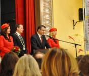 Der Oberbürgermeister und der Stadtamman verstanden es, die Gäste mit charmantem Witz gut zu unterhalten.