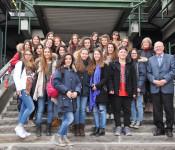 Schüler aus Conegliano zu Besuch in Rheinfelden.