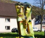 """Skulptur """"Die Familie"""" von Nicola Quici"""