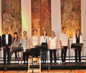 Chor Young Voices in der Christuskirche