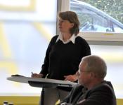 Andrea Strecker, Leiterin der Stadtbibliothek Rheinfelden