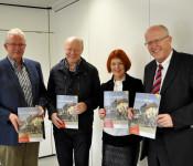 Eckhard Mikuszies, Norbert Dietrich, Cornelia Rösner und BM Rolf Karrer